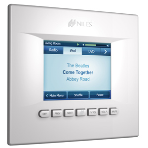 Niles Launches the TS-Pro Wall-Mount Color Touchscreen ... on